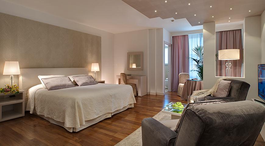 Camere e prezzi camera doppia superior hotel neroniane for Resort termali in cabina