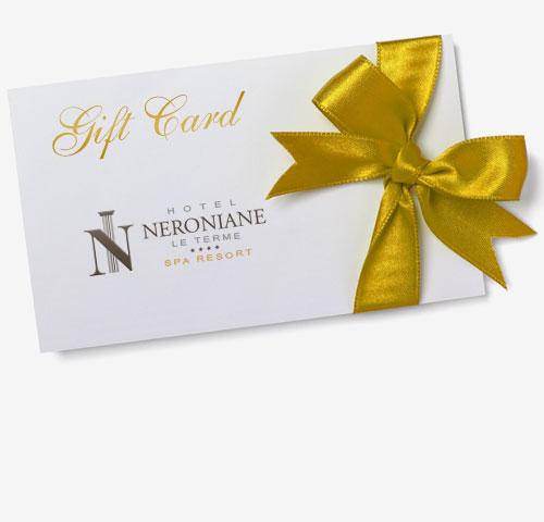 Gift Card, un regalo di benessere - Hotel Neroniane Montegrotto